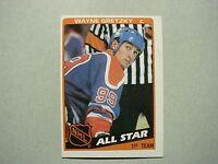1984/85 TOPPS NHL HOCKEY CARD #154 WAYNE GRETZKY AS NM SHARP!! 84/85 TOPPS