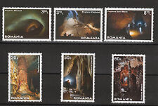 Caves set of 6 mnh stamps 2011 Romania #5232-7