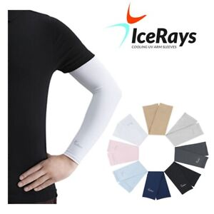 IceRays Protective Cooling Arm Sleeves - SPF 50+ UV Protection One Pair & Color