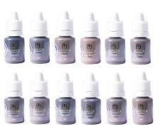 Maquillaje Semi Permanente pigmentos, Luanes Cejas Set 12 Colores micropigments, spmu
