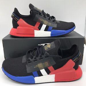 adidas Originals NMD R1.V2 Paris 2020 FY2070 Blue red black Size 8-13 New
