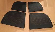 AUDI A2 2000 2005 speaker grill trim covers soul black set front back left right