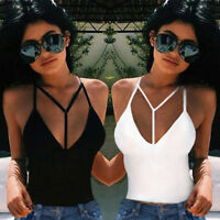 Women Sexy Summer Vest Top Sleeveless Blouse Casual Tank Tops T Shirt PT