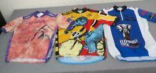 (3) Elephant Rock Cycling Bike Jerseys Men's XL 1995 2001 & 2003 Pearl Izumi