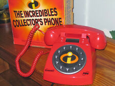 Disney Pixar The Incredibles Collector's Phone by Sbc Telephone New in Box