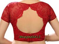 Readymade Saree Blouse,Designer Sari Blouse,Embroidered Net Blouse,Indian Top