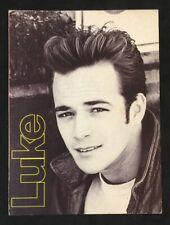 1990 LUKE PERRY American Actor Smash Hits postcard Singapore