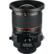 Samyang 24mm F3.5 Tilt Shift Lens for Nikon - New!