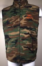 Fun & Attitude Big Dogs Kids Camo Vest Fleece 16 / 18 Front Zip