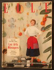 'ELLE' FRENCH VINTAGE MAGAZINE 22 FEBRUARY 1954