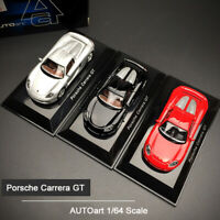 AUTOart 1:64 Scale Porsche Carrera GT Super Sports Car Alloy Model Collection