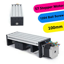 1204 Linear Motion Double Shaft Ball Screw Guide Rail+ 57 Series Stepper Motor