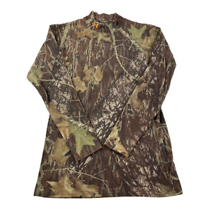 Under Armour Youth XL Camo Long Sleeved Realtree Shirt Compression Outdoor Hunt