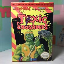Toxic Crusaders Nes Box Only Rare