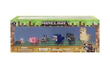 Minecraft Baby Animal 6 Pack Series 4 Llama Cow Sheep Pig Wolf Chicken New!