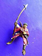 1x squire mounted rider Bretonnian citadel gw metal figure polearm #A