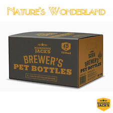 Brewer's amber PET Plastic BOTTLES + screw caps Box 15 x 750ml - Mangrove Jack's
