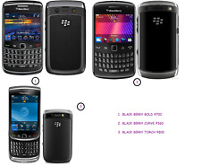 Blackberry Faulty Mobile sets Models: Curve 9360, Torch 9800, Bold 9700
