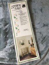 New listing Daisies Stencil Decor Wall Art Daisy Flowers