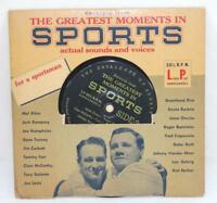 1950's Greatest Moments In Sports 33 1/3 RPM Record - Babe Ruth Lou Gehrig