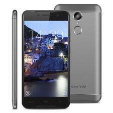 5.0'' HOMTOM HT37 Pro 4G Smartphone Android 7.0 Smartphone 32GB 2*SIM Handy Grau