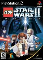 LEGO Star Wars II: The Original Trilogy - Playstation 2 Game Complete