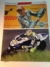 VALENTINO ROSSI A4 PHOTOGRAPHS - 15 DIFFERENT SHOTS ON PHOTOGRAPHIC PAPER
