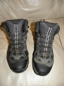 Salomon 4D Chassis Gore-Tex Contagrip Hiking Boots Men's Size 8.5 Green