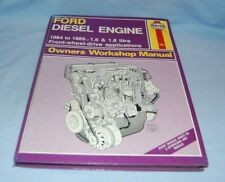 Haynes Ford Diesel Engine 1984 to 1989  Front Wheel Drive Applications