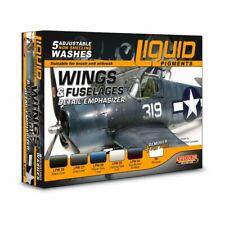 Lifecolor LP06 Liquid Pigments Wings, Fuselages 6x22ml (100ml=13,64€) Flugzeuge