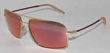 NEW SUNGLASSES MOSLEY TRIBES CHEYNE G/MRD GOLD-RED / RED MIRRORED POLARIZED