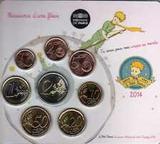 FRANCE Mini Set 8 pièces Fille  BU 2014 -Tirage 500 ex
