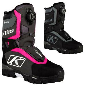 Klim K20 Aurora GTX BOA Womens Skiing Sledding Winter Snowmobile Boot