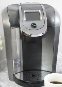 Keurig 2.0 K2.0-500 Coffee Maker K-Cup Pod Single Serve Brewer System Tested