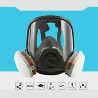 3M 6800+6004 7pcs Full Spray Facepiece Painting Large Respirator Mask Protection