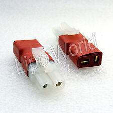 Tamiya Stecker auf Deans T Buchse Hochvoltstecker Adapter Lade Kabel LiPo Akku