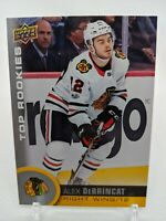 2017-18 Alex DeBrincat Upper Deck Rookie Card RC Blackhawks