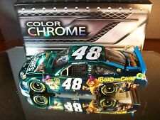 Jimmie Johnson #48 Lowe's Madagascar 3 Color Chrome Autographed 2012 Chevrolet