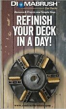 Diamabrush Decks, Hardwood Floors & Wood Siding Removal Tool