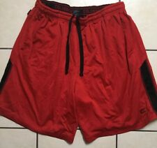 MENS COLOSSUM RED TRAINING SHORTS SIZE XL