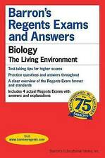 NEW Barron's Regents Exams and Answers: Biology by G. Scott Hunter