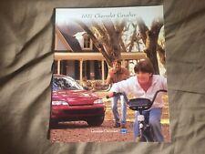 1997 Chevy Chevrolet Cavalier Color Brochure Catalog Prospekt