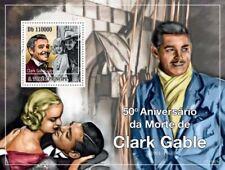 St Thomas - Clark Gable -  Stamp S/S  - ST10307b