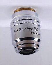 Nikon Bd Planapo 150x 210 Tl Apo M26 Metallurgical Microscope Objective