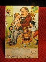 1907. THE HAPPY MARRIED MAN. POSTCARD F9
