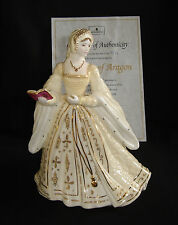 WEDGWOOD LIMITED EDITION FIGURINA Catherine dell' Aragona & CERTIFICATO