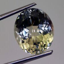 6,65 carats, TOURMALINE NATURELLE JAUNE DORE ( pierres précieuses : fines )