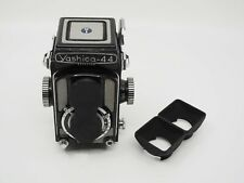 Yashica 44A TLR Twin Lens Hood (dual) & Cap 3D-Printed (does not include camera)