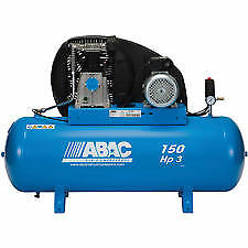 ABAC Pro 39B Single Phase Electric Compressor 15 CFM 150 Ltr Tank