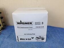 Wagner Roll 'N Go Replacement Hose 0514139 NEW BOX OF 3